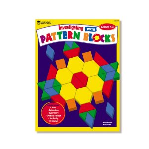 러닝리소스[EDU7623] 패턴블록 활동북Investigating with Pattern Blocks Book